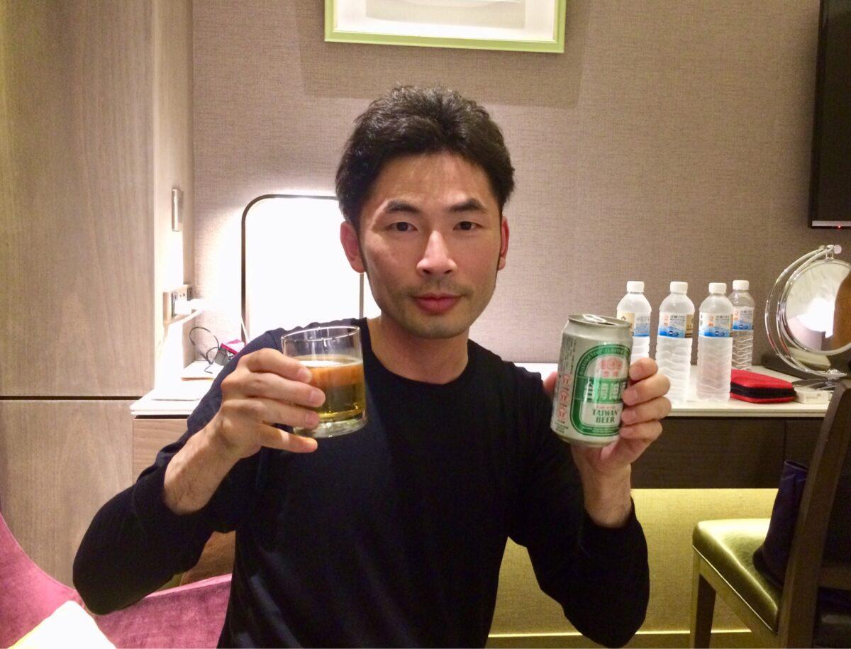 台湾ビール飲み比べ